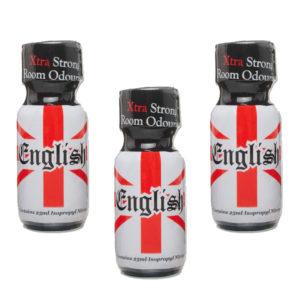 English Extra Strong Poppers 3 Bottle Multi Pack