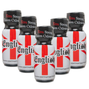 English Extra Strong Poppers 5 Bottle Multi Pack