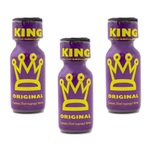 King Original Poppers 3 Bottle Value Multi Pack