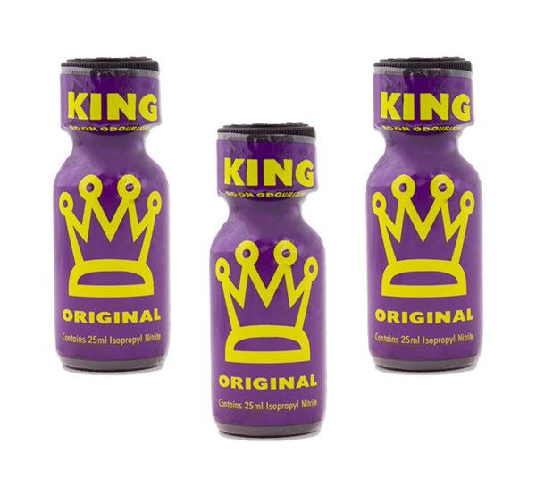 King Original Poppers 3 Bottle Value Multi Pack