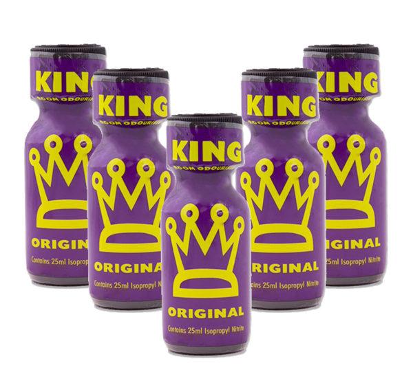 King Original Poppers 5 Bottle Value Multi Pack