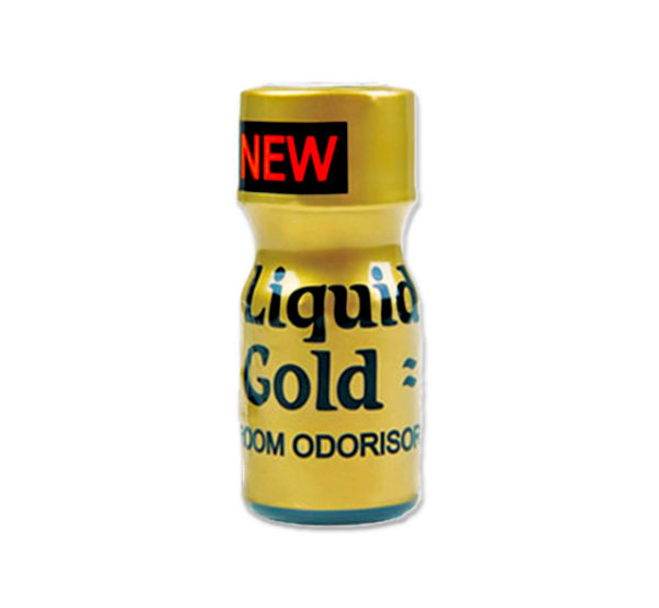 Liquid Gold Poppers 10ml Single Bottle