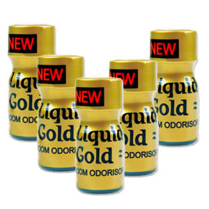 Liquid Gold Poppers 5 Bottle Multi Pack