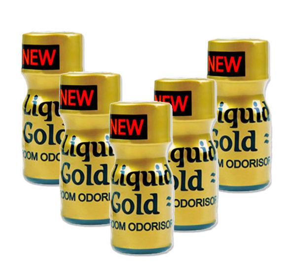 Liquid Gold Poppers 5 Bottle Multi Pack