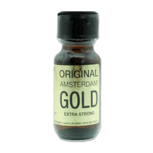 Original Amsterdam Gold Poppers 25ml