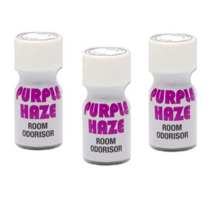 Purple Haze Poppers 3 Bottle Multi Pack