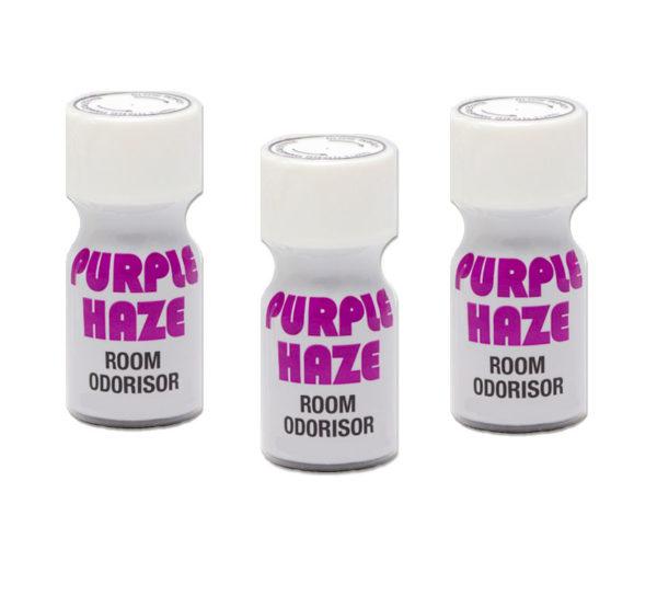 Purple Haze Poppers 3 Bottle Multi Pack