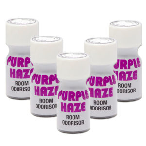 Purple Haze Poppers 5 Bottle Multi Pack