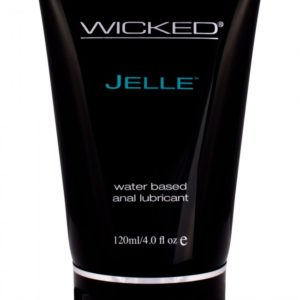 Wicked Jelle Water Based Anal Lube