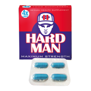 Hard Man Herbal Capsules 4 Pack